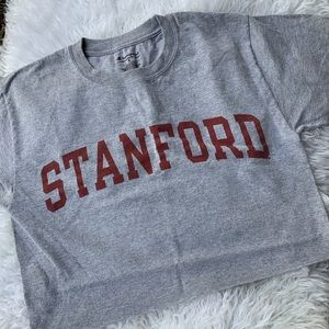 Vintage Tops - Stanford university crop top T-shirt